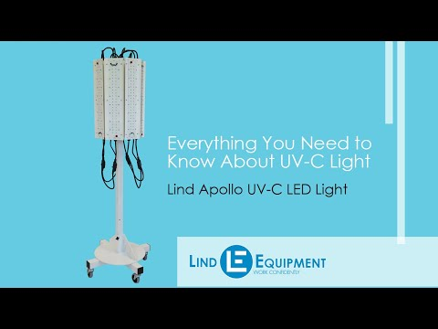 Everything You Need To Know About UV-C Light - Lind Equipment's Apollo UV-C LED Light