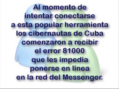 ¿Cuál Cambio Microsoft deja sin Messenger a Cuba