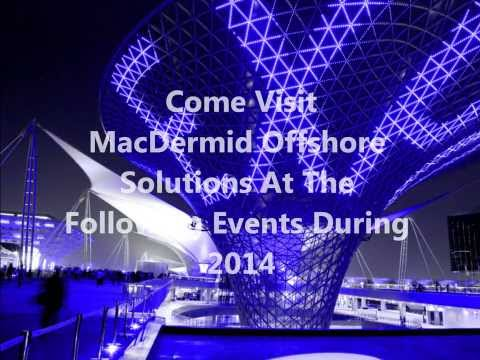 MacDermid Offshore Solutions Exhibitions 2014