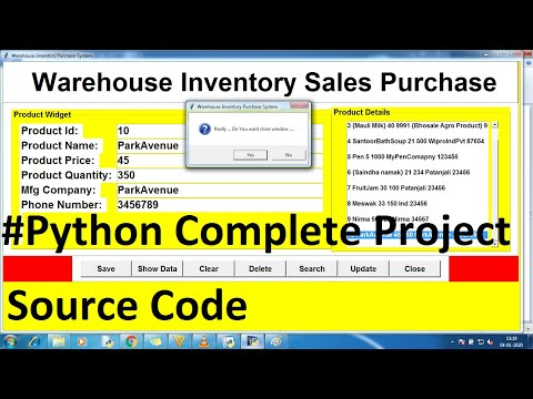 Python Complete Projects for Beginners With Source Code Using Database , Tkinter | Python projects