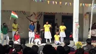 D. A.V. GIRLS DANCE IN REPUBLIC DAY