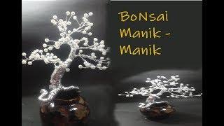 Tutorial Membuat Bonsai Dari Manik-Manik Akrilik