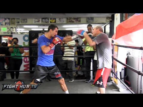 Lucas Matthysse vs. Viktor Postol full video- COMPLETE Postol media workout video