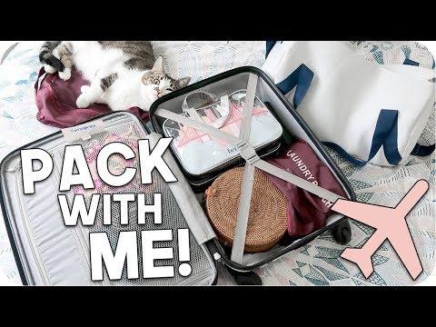 Pack with Me: Weekend Trip 2018!