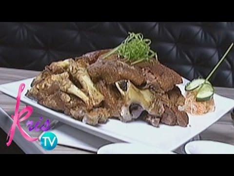 Kris TV: Richard Yap Presents His Restaurant's Specialties