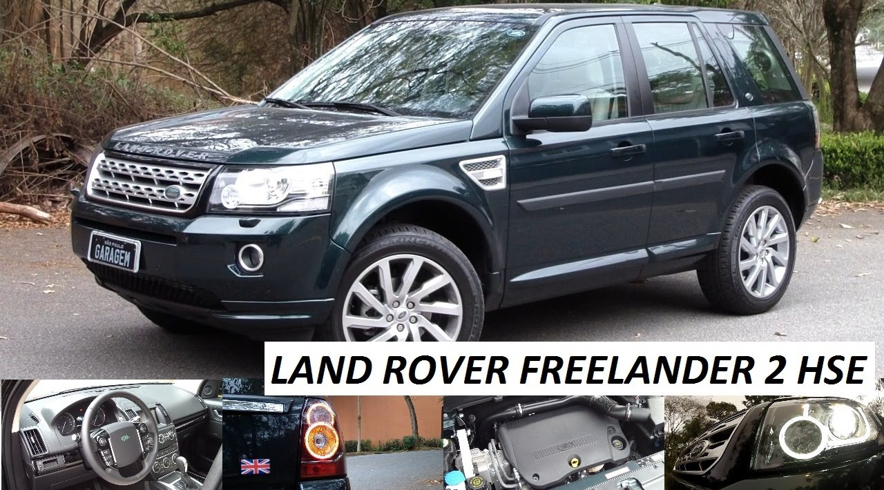 garagem daily driver: land rover freelander 2 hse - youtube