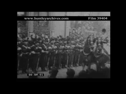 Funeral Procession of Queen Victoria.  Archive film 39404