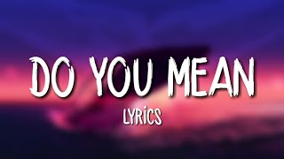 The Chainsmokers Do You Mean Lyrics