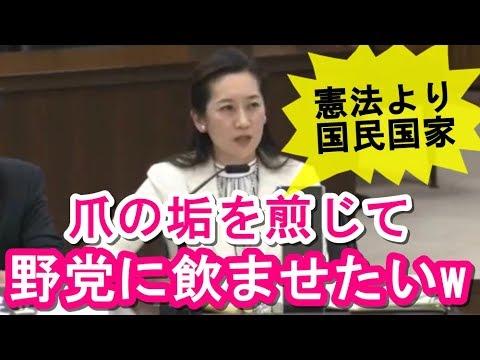 【森友文書】自民・松川るい「マスコミや野党は籠池氏の昭恵夫人発言だけを取り上げ『忖度の証拠』とストーリーを作っている」