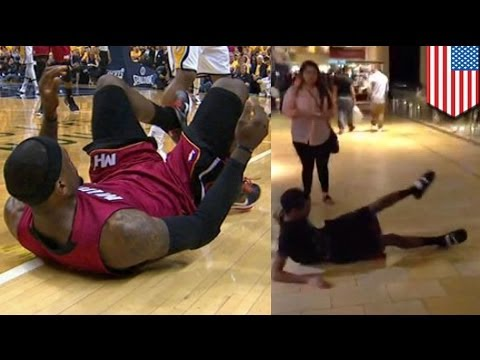 Lebroning Videos Viral Sensation Hits Floors And Hallways