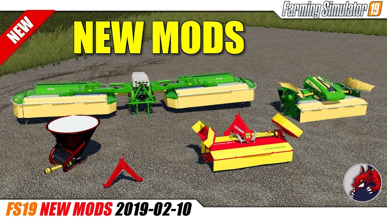 FS19 | New Mods (2019-02-10) - review