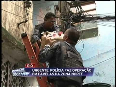PM ocupa as favelas Parque Arará e Rato Molhado em Benfica