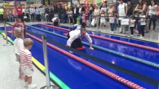 Liberty Romford Charity Sliding Challenge