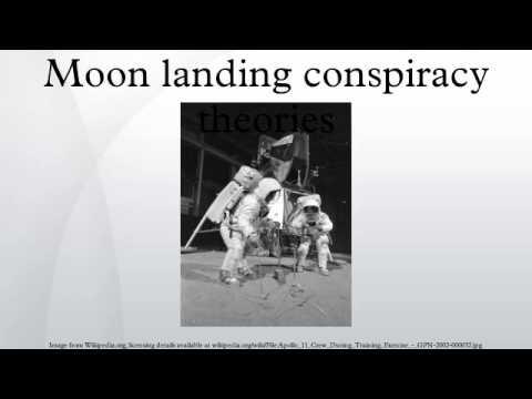 Moon landing conspiracy theories