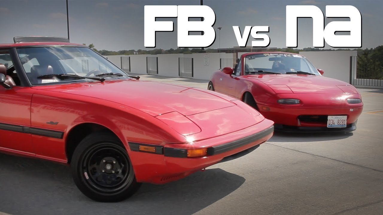 Should You Buy An Rx7 Or A Miata Youtube