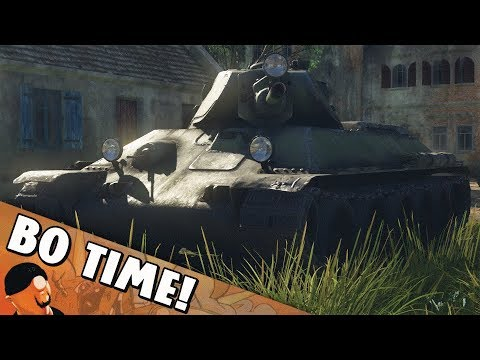 "War Thunder - T-34 Prototype ""Sector Clear!"""