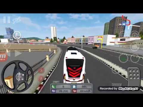Sirine Polisi Dan Livery PATWAL Bus Simulator Mobile