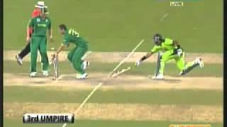 Pakistan vs South Africa very tight and nice 4th ODI Dubai, 2010