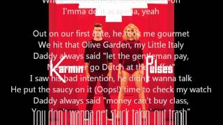 Karmin - Acapella (Official Instrumental) with lyrics