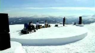 Batagraf/Jaap Blonk mountain concert