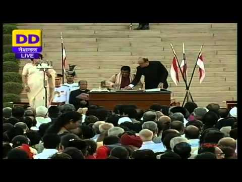 Swearing-in-Ceremony of Prime Minister of India and Union Council of Ministers