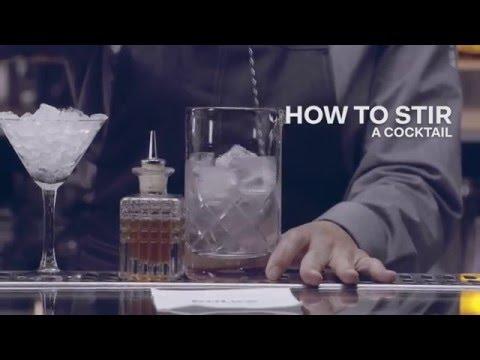 How to Stir a Cocktail - Bols Bartending Academy