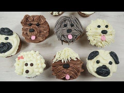 Puppy Cupcakes | Süße Hunde Cupcakes zum Filmstart von ISLE OF DOGS- ATARIS REISE