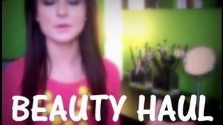 Random Beauty Haul Thumbnail