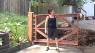 Diy Phone Consultation Testimonial Part 1, Wood Driveway Gate