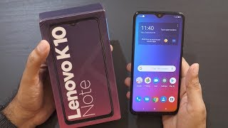 Lenovo K10 Note Mid-Range Smartphone Unboxing & Overview
