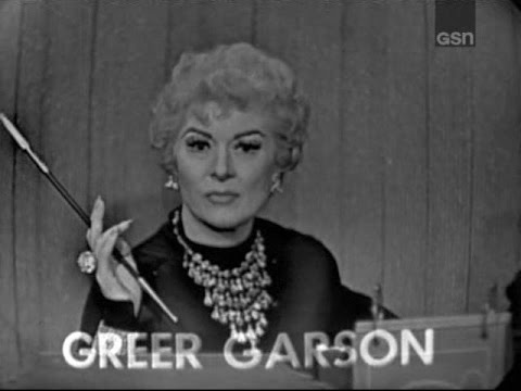 What's My Line? - Greer Garson; Orson Welles [panel] (Apr 6, 1958) [UPGRADE!]
