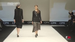 DE FRONS CPM Moscow Fall 2016 2017 by Fashion Channel