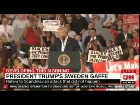 Trump's Sweden blunder shows his reliance on cable news and its shortcomings