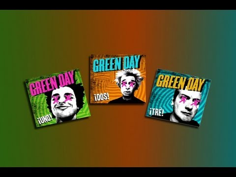 Green Day - ¡UNO! ¡DOS! and ¡TRE! in 9 Minutes