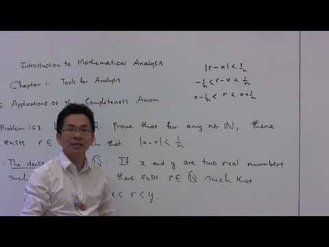 The Density Property of Rational Numbers --- Problem 1.6.3