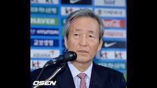 鄭夢準KEA名誉会長、復帰=W杯・韓国‐スウェーデン戦を観戦 (6/21)