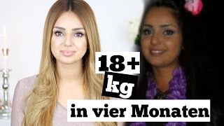 18+kg in VIER Monaten abgenommen!
