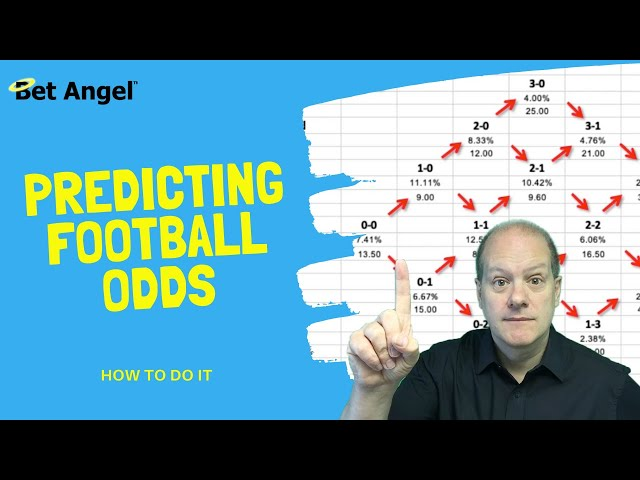 Football betting tips | An easy way to predict betting odds on individual markets on Betfair