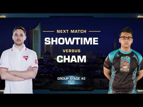 ShoWTimE vs Cham PvZ - Group B Stage 2 - WCS Leipzig 2018 - StarCraft II