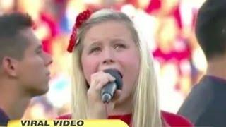 Worst National Anthem Ever? 11-year-old Harper Gruzins' 'star Spangled B