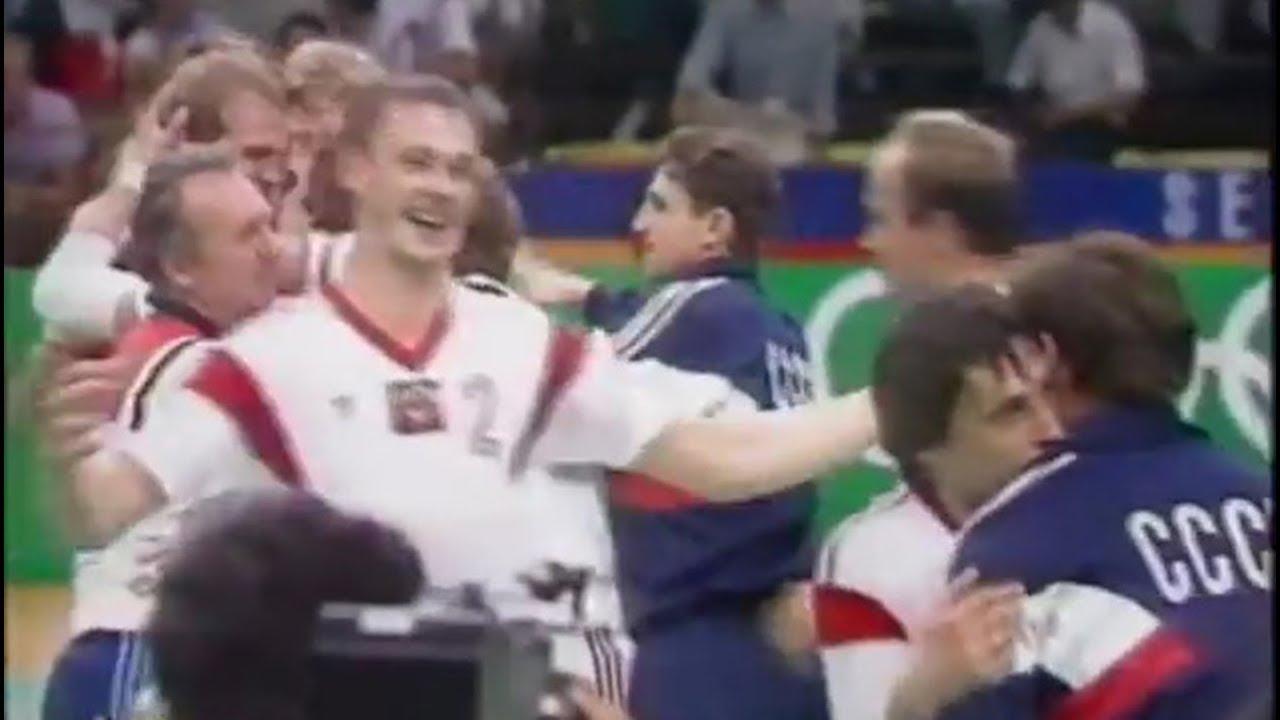 Гандбол. Сборная СССР. Олимпийские Игры 1988 года в Сеуле