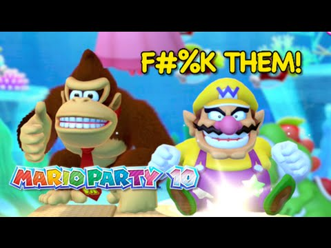 THESE MODAPH#%KAS BEST FRIENDS!? [MINI GAMES MAYHEM] [MARIO PARTY 10] #03