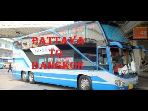HOW TO REACH PATTAYA TO BANGKOK BY BUS #VLOG#
