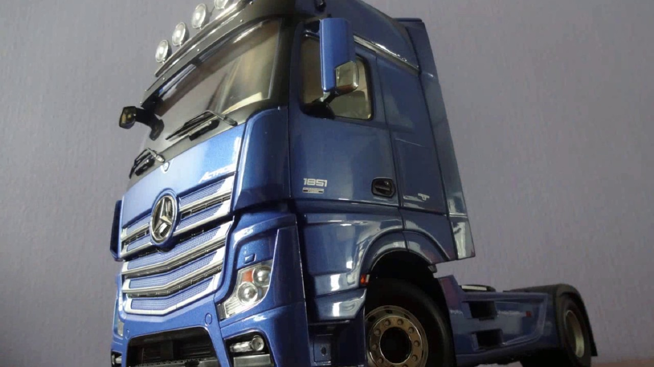 G63 Amg 6X6 >> 1:18 Mercedes Benz Actros model truck - YouTube