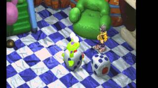 Digimon World - Digimon World (PS1 / PlayStation) - Digivolving to Monzaemon in Toy Town - User video