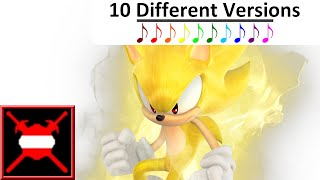"10 Different Versions - ""His World"" from Sonic The Hedgehog (2006)"