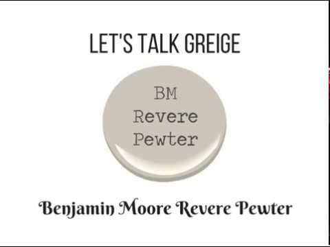 Revere Pewter Benjamin Moore Paint Color For Bathrooms Living Rooms Kitchens More You