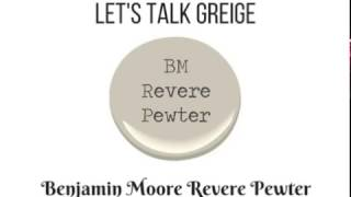 Revere Pewter Benjamin Moore Paint Color for Bathrooms, Living Rooms, Kitchens & More