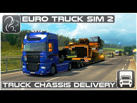 Truck Chassis Delivery (Euro Truck Simulator 2)