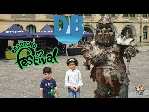 Bradford Festival | City Park Bradford City England 2019